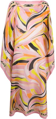 Emilio Pucci Vetrate-print beach dress