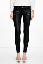 Paige Coated Edgemont Ultra Skinny Jeans