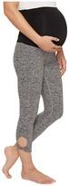 Beyond Yoga Twist Cuff Maternity Capri Leggings Women's Casual Pants