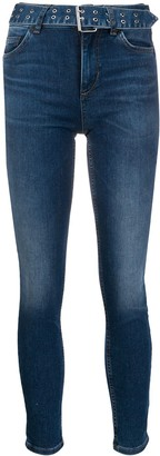 Liu Jo Acid Wash Jeans