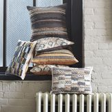 west elm Frayed Patchwork Pillow Cover – Slate