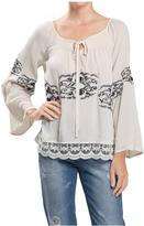 Blu Pepper Embroidered Blouse
