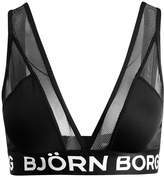 Bjorn Borg SOFT SOLID Triangle bra black beauty