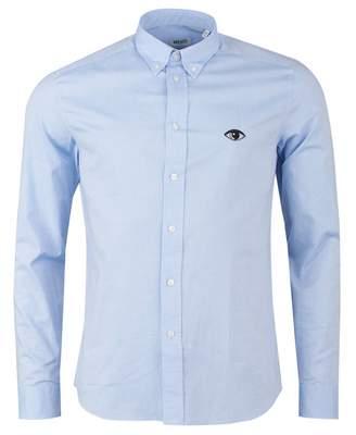 Kenzo Eye Crest Slim Fit Shirt Colour: SKY, Size: XXL