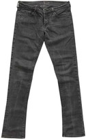 7 For All Mankind Anthracite Cotton - elasthane Jeans for Women