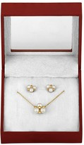 Majorica Necklace & Earrings Gift Set