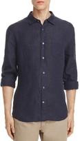 Vince Linen Slim Fit Button-Down Shirt - 100% Exclusive