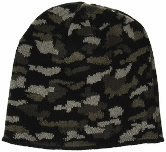 Clementine Apparel Men's Knitted Hats Beanie Cap (Pack of 6)