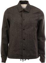 Comme des Garcons snap fastening jacket - men - Cotton/Wool - M