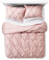 Threshold Pinch Pleat Duvet & Sham Set