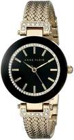 Anne Klein Women's AK-1906BKGB Watch