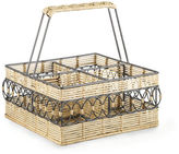 Ralph Lauren Breene Raffia & Wire Caddy