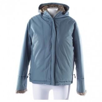Woolrich Blue Fur Jackets
