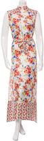 Suno Silk Maxi Dress