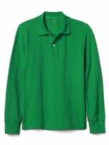 Gap Pique long sleeve polo