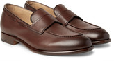 Ermenegildo Zegna - Leather Penny Loafers
