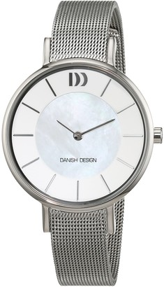 Danish Design Womens Analogue Quartz Watch with Stainless Steel Strap IV62Q1167