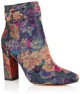 Ravel Jacquard Block Heel Boots