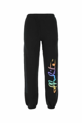 Off-White Rainbow Logo Print Sweatpants