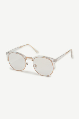 Ardene Clear Clubmaster Glasses