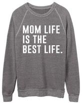 Ily Couture Mom Life is the Best life Sweatshirt - White