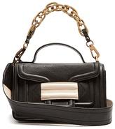 Pierre Hardy Alpha Plus grained-leather shoulder bag