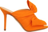 Charlotte Olympia Ilona silk mule with bow front
