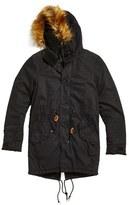 Freecity Sail Coat With Faux Fur Trim
