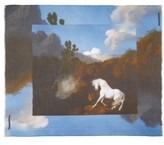 Stella McCartney Women's Stubbs Horse Printed Scarf
