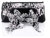 Chanel Pre-owned: Limited Edition Scarf Pochette Printed Silk And Leather.