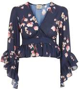 **Nelsa Floral Top by Lace & Beads