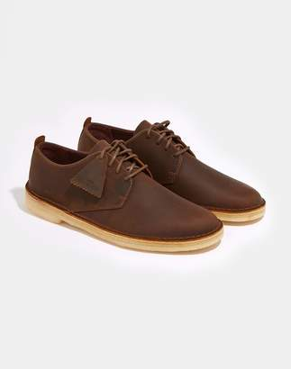 Clarks Desert Trek Leather Boot Beeswax