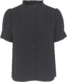 Samsoe & Samsoe Rosella Shirt - Night Sky - Size S (UK 8 -10)