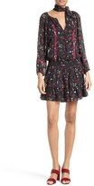 Joie Women's Grover Floral Silk Minidress