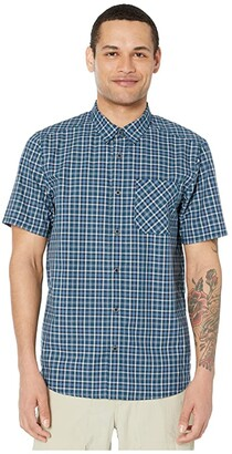 5.11 Tactical Carson Plaid Short Sleeve Shirt (Blueblood) Men's Clothing