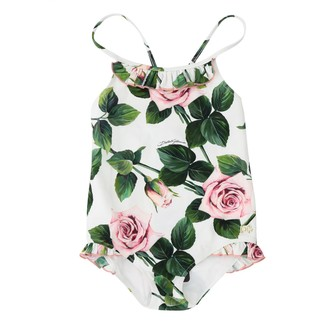 Dolce & Gabbana Dolce Gabbana Swimsuit With Floral Pattern