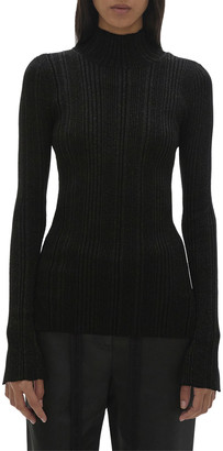 Helmut Lang Ribbed Turtleneck Sweater