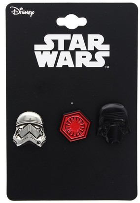 Star Wars The Last Jedi First Order Enamel Collector Pin 3-Pack - Red