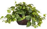 Bed Bath & Beyond Nearly Natural Pothos w/ Decorative Vase Silk Plant