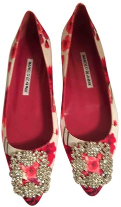 Manolo Blahnik Hangisi Other Cloth Ballet flats