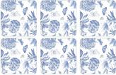 Pimpernel Set of 6 Botanic Blue Coasters