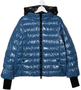 Herno TEEN padded hooded jacket