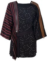 3.1 Phillip Lim mix print kimono top