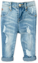 Hudson Toddler Girls) Distressed Boyfriend Jeans