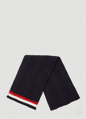 Thom Browne Knitted Scarf