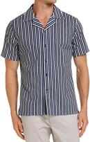 SABA Willem Striped Short Sleeve Shirt