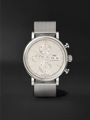 IWC SCHAFFHAUSEN Portofino Automatic Chronograph 42mm Stainless Steel Watch, Ref. No. Iw391028