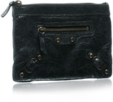Small Studded Leather Purse