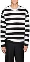 Ami Alexandre Mattiussi Men's Striped Cotton T-Shirt