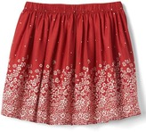 Gap Floral border flippy skirt